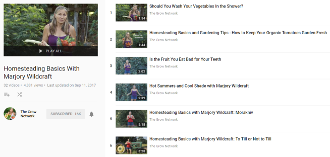 Homesteading Basics With Marjory Wildcraft YouTube YouTube