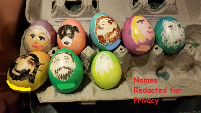 easter eggs names redacted