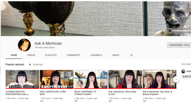Ask-A-Mortician-YouTube