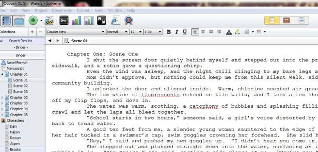 blog scrivener Ocooch