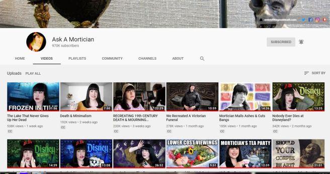 youtube askamortician
