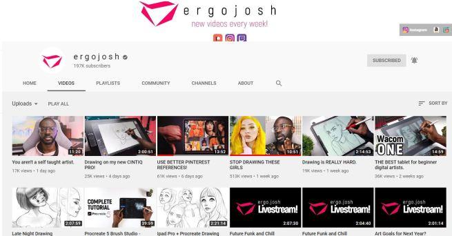 youtube ergo josh