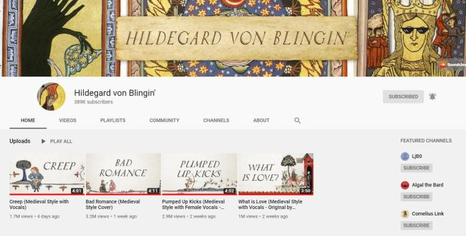 youtube hildegard von blingin